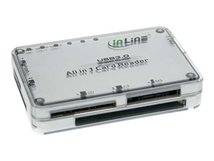 InLine - Kartenleser - All-in-one (MS, SD, xD, CF, TransFlash, SDHC, MS PRO-HG Duo, SDXC, MS XC) - USB 3.0