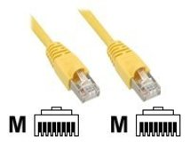 InLine - Patch-Kabel - RJ-45 (M) bis RJ-45 (M) - 25 cm - SFTP - CAT 5e