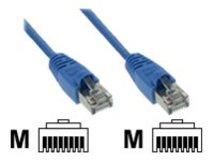 InLine - Patch-Kabel - RJ-45 (M) bis RJ-45 (M) - 50 cm - FTP - CAT 5e