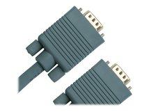 Jou Jye Computer VC 100 - VGA-Kabel - DB-15 (M) bis DB-15 (M) - 1 m - Grau