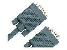 Jou Jye Computer VC 100 - VGA-Kabel - DB-15 (M) bis DB-15 (M) - 2 m - Grau