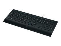 K280e - Tastatur - USB - Deutsch - Schwarz