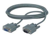 - Kabel seriell - DB-9 (M) bis DB-9 (W) - Grau - für P/N: AP9624, BK350EIX545, G35T40KHS, SC450R1X542, SN1000, SUA5000RMI5U, SUA500PDRI-S