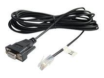 - Kabel seriell - RJ-45 (M) bis DB-9 (W) - 4.57 m - für P/N: AP9624, BK350EIX545, G35T40KHS, SN1000, SUA2200X115, SUA5000RMI5U, SUA500PDRI-S