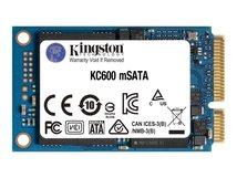 KC600 - Solid-State-Disk - verschlüsselt - 1024 GB - intern - mSATA