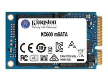 KC600 - Solid-State-Disk - verschlüsselt - 512 GB - intern - mSATA