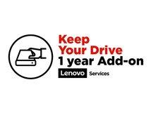 Keep Your Drive Add On - Serviceerweiterung - 1 Jahr - für ThinkCentre M900; M900x; M90n-1; M90n-1 IoT; M910q; M910x; M920q; M93p