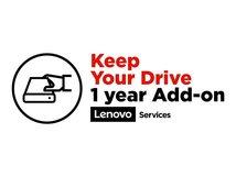 Keep Your Drive Add On - Serviceerweiterung - 1 Jahr - für ThinkCentre M900; M900x; M910q; M910x; M93p