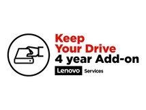Keep Your Drive Add On - Serviceerweiterung - 4 Jahre - für ThinkCentre Edge 93z; ThinkCentre M910z; M920z; M93z; P9; X1