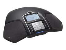 Konftel 300Wx - Schnurloses Konferenztelefon - DECTGAP - Liquorice Black - für Konftel C50300Wx Hybrid