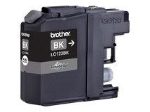 LC123BK - 2er-Pack - Hohe Ergiebigkeit - Schwarz - Original - Blister mit akustischem/elektromagnetischem Alarm
