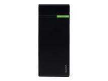 Leitz Complete High Speed Powerbank 10400 - Powerbank - 5200 mAh - 2 A - 2 Ausgabeanschlussstellen (USB) - auf Kabel: Micro-USB