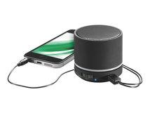 Leitz Portable Mini - Lautsprecher - tragbar - kabellos - Bluetooth - Schwarz