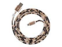 - Lightning-Kabel - USB (M) bis Lightning (M) - 1.5 m - Leo - für Apple iPad/iPhone/iPod (Lightning)