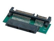 Lindy Micro SATA an SATA Adapter mit 3,3V Regler für Micro SATA Device - SATA-Adapter - SATA Combo (M) bis Mikro SATA (W)