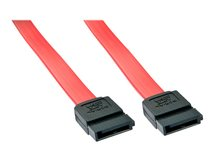 Lindy - SATA-Kabel - Serial ATA 150/300/600 - SATA bis SATA - 20 cm - Rot