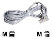 Lindy - Telefonkabel - RJ-10 (M) bis RJ-10 (M) - 3 m