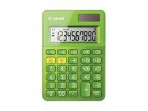 LS-100K - Desktop-Taschenrechner - 10 Stellen - Solarpanel, Batterie - metallisch grün