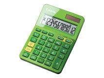 LS-123K - Desktop-Taschenrechner - 12 Stellen - Solarpanel, Batterie - metallisch grün