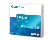 - LTO Ultrium WORM 8 - 12 TB / 30 TB - Grau, Brick Red