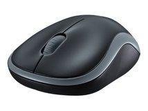 M185 - Maus - optisch - kabellos - 2.4 GHz - kabelloser Empfänger (USB)