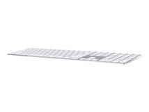 Magic Keyboard with Numeric Keypad - Tastatur - Bluetooth - QWERTZ - Schweiz - Silber