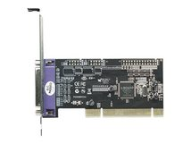 Manhattan Parallele PCI-Karte, Ein externer DB25-Port - Parallel-Adapter - PCI - IEEE 1284 x 1
