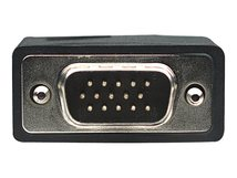 Manhattan SVGA Monitorkabel mit Ferritkernen, HD15 Stecker auf HD15 Stecker mit Ferritkernen, schwarz, 1,8 m - VGA-Kabel - HD-15 (VGA) (M) bis HD-15 (VGA) (M) - 300 V - 1.8 m - geschirmt, geformt, Daumenschrauben