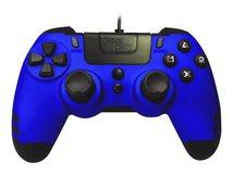 MetalTech - Game Pad - kabelgebunden - Saphirblau - für PC, Sony PlayStation 3, Sony PlayStation 4