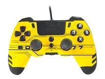 MetalTech - Game Pad - kabelgebunden - Yellow Hack - für PC, Sony PlayStation 3, Sony PlayStation 4