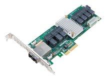 Microsemi Adaptec 82885T - Speicher-SAS-Buserweiterung - 36 Sender/Kanal - SATA 6Gb/s / SAS 12Gb/s Low-Profile - 12 Gbit/s - PCIe x4