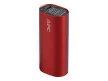 Mobile Power Pack - Powerbank - 3000 mAh - 1 A (USB) - Rot