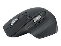 MX Master 3 - Maus - Laser - 7 Tasten - kabellos - Bluetooth, 2.4 GHz