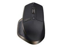 MX Master - Maus - Laser - 5 Tasten - kabellos - Bluetooth, 2.4 GHz
