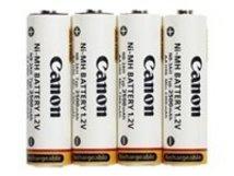 NB-4-300 - Kamerabatterie 4 x AA-Typ - NiMH - (wiederaufladbar) - für PowerShot A1100, A2100, A480, A490, A495, E1, SX1, SX10, SX110, SX120, SX130, SX150, SX20