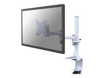 """NewStar FPMA-D1330 - Halterung für LCD-Display (full-motion) - weiß - Bildschirmgröße: 25.4-76.2 cm (10""""-30"""") - Klemmmontage, Tülle, Tischmontage"""
