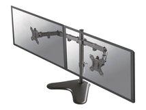 """NewStar FPMA-D550DD - Tischhalterung für 2 LCD-Displays (full-motion) - Schwarz - Bildschirmgröße: 25.4-81.3 cm (10""""-32"""") - Schreibtisch-Ständer"""