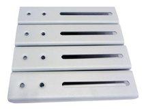 """NewStar FPMA-VESA800 - Montagekomponente (VESA Adapterplatte) für LCD-/Plasmafernseher - Silber - Bildschirmgröße: 68.6-152.4 cm (27""""-60"""")"""