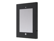 NewStar IPAD2N-UN20 - Befestigungskit (Diebstahlschutzgehäuse) für Tablett - verriegelbar - Stahl - Schwarz - Montageschnittstelle: 100 x 100 mm