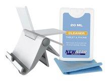 NewStar NS-MKIT100 - Aufstellung für Mobiltelefon / Tablet (neigen) - weiß - Schreibtisch