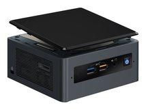 Next Unit of Computing Kit NUC8I5BEH - Mini-PC - 1 x Core i5 8259U / 2.3 GHz - RAM 4 GB - kein HDD, HDD 1 TB - Iris Plus Graphics 655