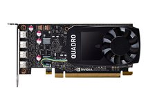 NVIDIA Quadro P1000 DVI - Grafikkarten - Quadro P1000 - 4 GB GDDR5 - PCIe 3.0 x16 Low-Profile - 4 x Mini DisplayPort
