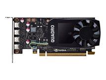 NVIDIA Quadro P1000 - Grafikkarten - 1 GPUs - Quadro P1000 - 4 GB GDDR5 - PCIe 3.0 x16