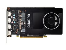 NVIDIA Quadro P2200 - Grafikkarten - Quadro P2200 - 5 GB GDDR5X - PCIe 3.0 x16 - 4 x DisplayPort