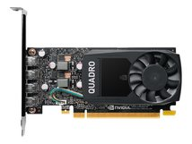 NVIDIA Quadro P620 - Grafikkarten - Quadro P620 - 2 GB GDDR5 - PCIe 3.0 x16 Low-Profile - 4 x Mini DisplayPort