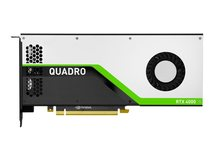 NVIDIA Quadro RTX 4000 - Grafikkarten - Quadro RTX 4000 - 8 GB GDDR6 - PCIe 3.0 x16 - für Nimble Storage dHCI Large Solution with HPE ProLiant DL380 Gen10; ProLiant DL380 Gen10