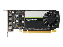 NVIDIA T1000 - Grafikkarten - T1000 - 4 GB GDDR6 - PCIe 3.0 x16 Low-Profile - 4 x Mini DisplayPort