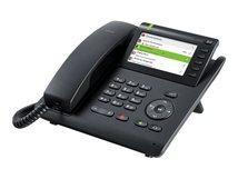 OpenScape Desk Phone CP600E - VoIP-Telefon - dreiweg Anruffunktion - SIP - Schwarz
