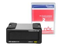 Overland Tandberg RDX QuikStor - Laufwerk - RDX - SuperSpeed USB 3.0 - extern - mit 2-TB-Kassette
