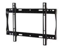 """PARAMOUNT Universal Flat Wall Mount PF640 - Befestigungskit (Wandplatte, Adapter für Halterung) für LCD-Display - Epoxidharz - Glanzschwarz - Bildschirmgröße: 81.3-116.8 cm (32""""-46"""") - Montageschnittstelle: 400 x 300 mm"""